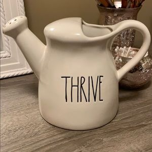 "Rae Dunn Accents - Rae Dunn ""Thrive"" Watering Can"